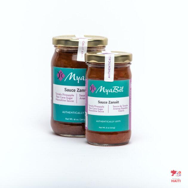 Sauce Zansèt – MyaBèl