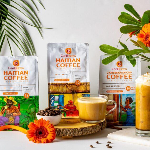 Organic Medium  Roast Premium Haitian Coffee (Caribbrew)