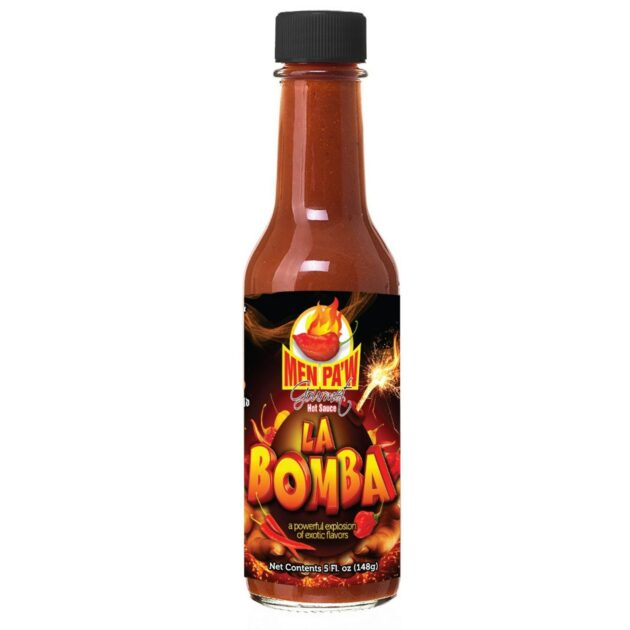 Men Pa'w Gourmet Hot Sauce (LA BOMBA) 5oz