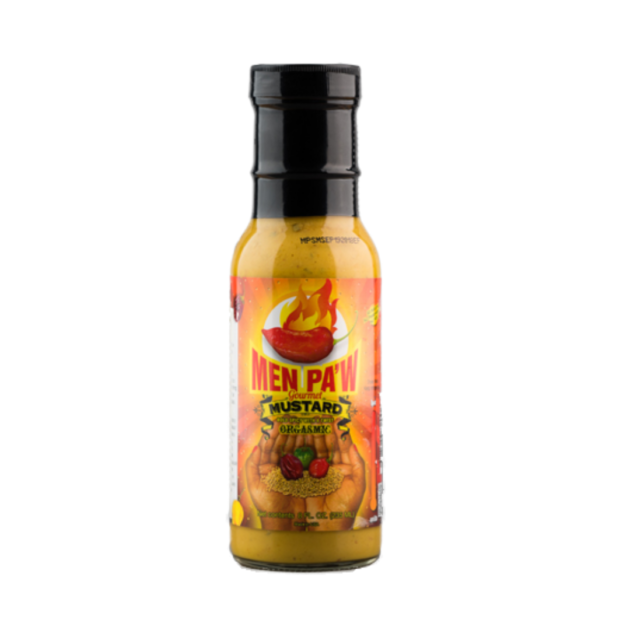 Spicy Mustard, 8 Oz.  (Men Pa'w )